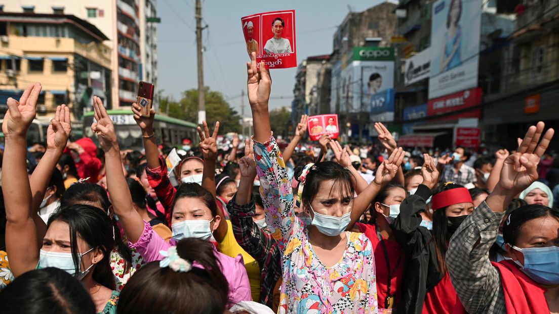 Proteste gegen Militärputsch in Myanmar weiten sich aus