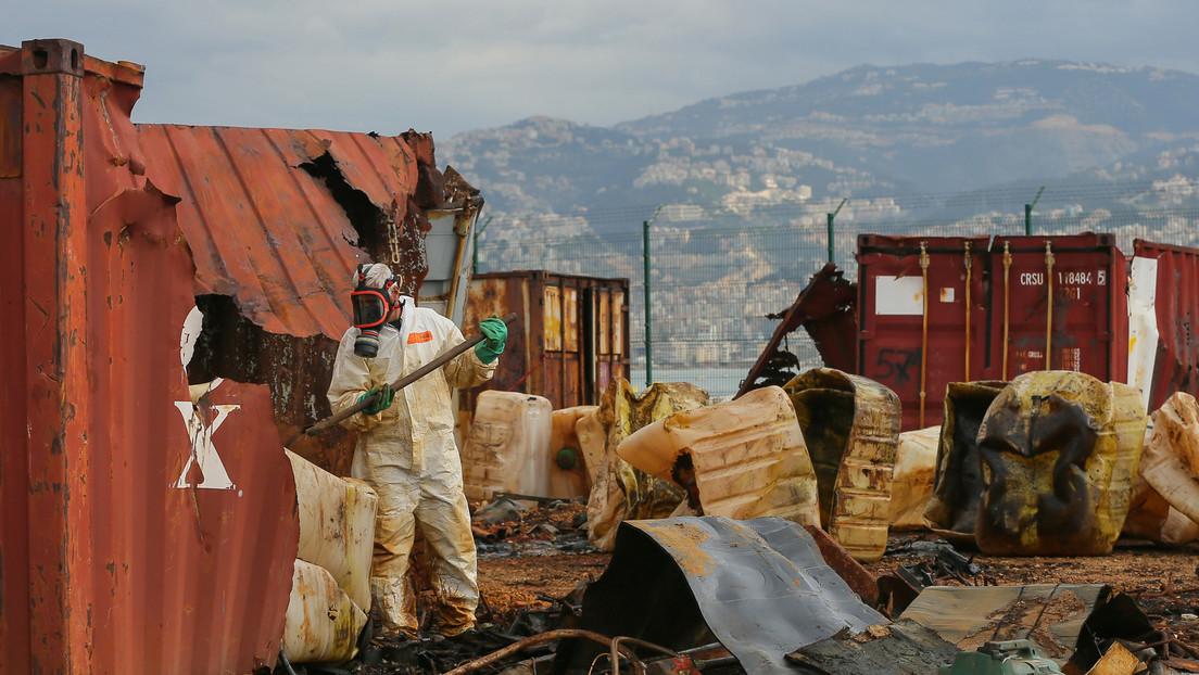 Gefährliche Chemikalien aus Beiruter Hafen sollen nach Deutschland geschickt werden