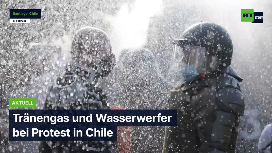 Chile: Krawalle nach tödlichem Polizeieinsatz gegen Straßen-Jongleur