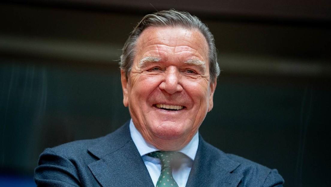 Altkanzler Gerhard Schröder über Russlands neue Rolle in der Welt