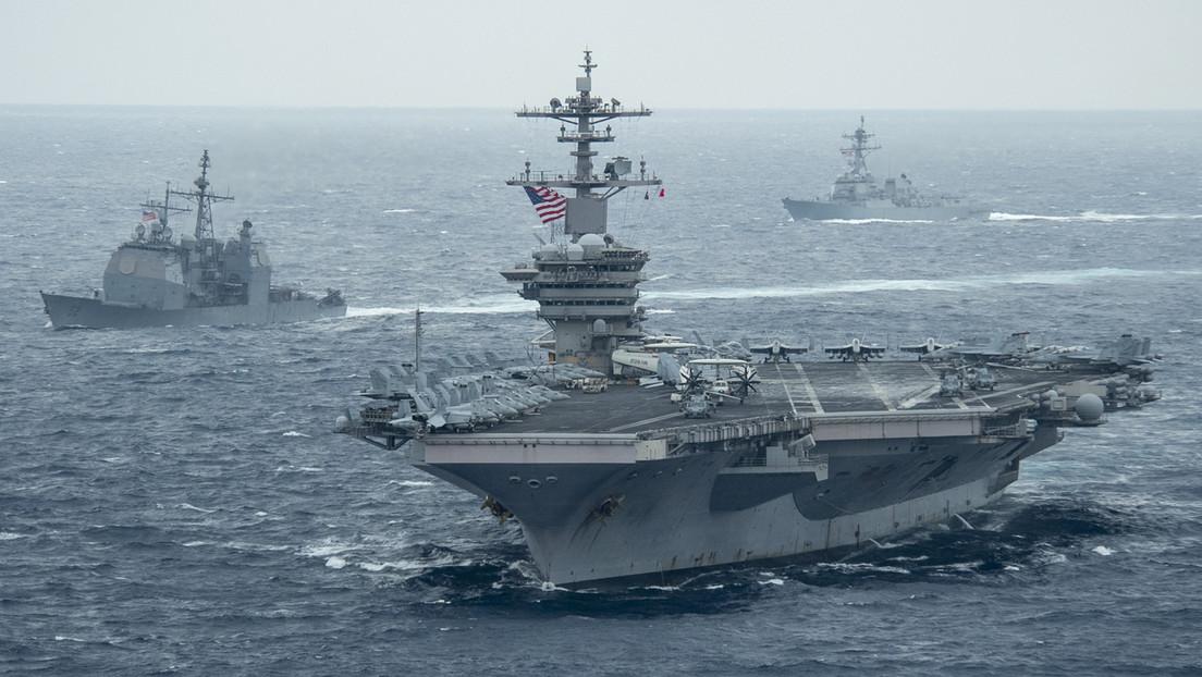 Trotz Warnung aus Peking: Zwei US-Flugzeugträger patrouillieren im Südchinesischen Meer