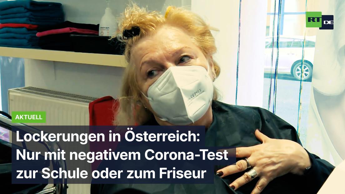 Österreich: Nur mit negativem Corona-Test zur Schule oder zum Friseur
