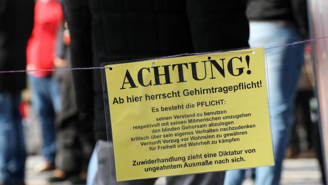 """Neue """"Studie"""": Querdenken-Demos in Berlin und Leipzig waren angeblich """"Superspreader-Ereignisse"""""""