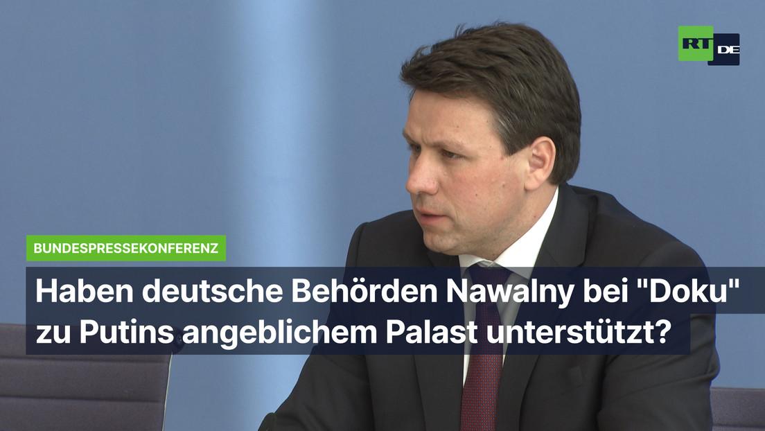 """Haben deutsche Behörden Nawalny bei """"Doku"""" zu Putins angeblichem Palast unterstützt?"""