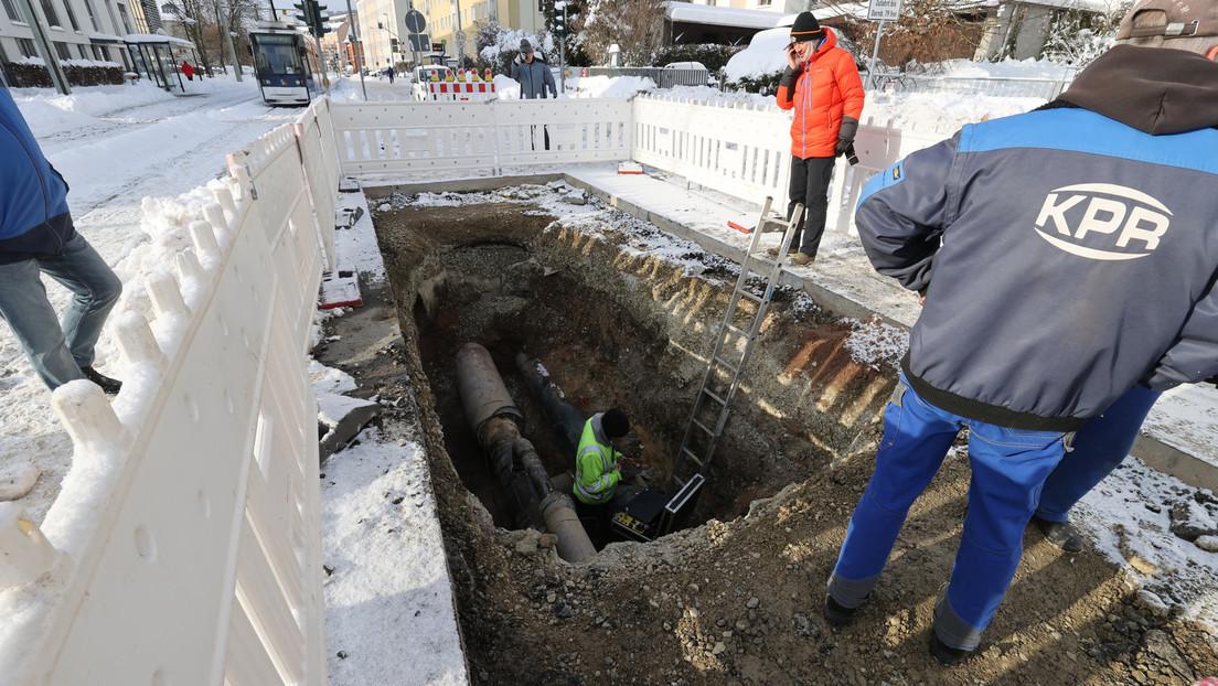 Wegen Havarie an Fernwärmeleitung: 6.500 Haushalte in Jena stundenlang ohne Heizung und Warmwasser