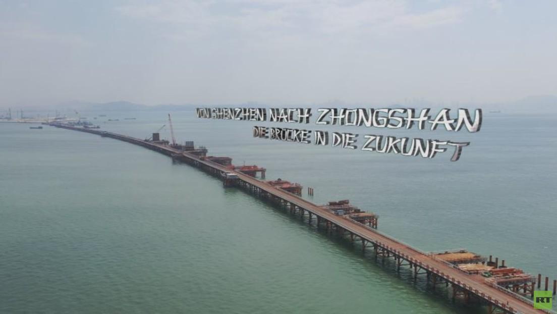 Brücke in die Zukunft: Chinas unglaubliches Perlfluss-Großprojekt
