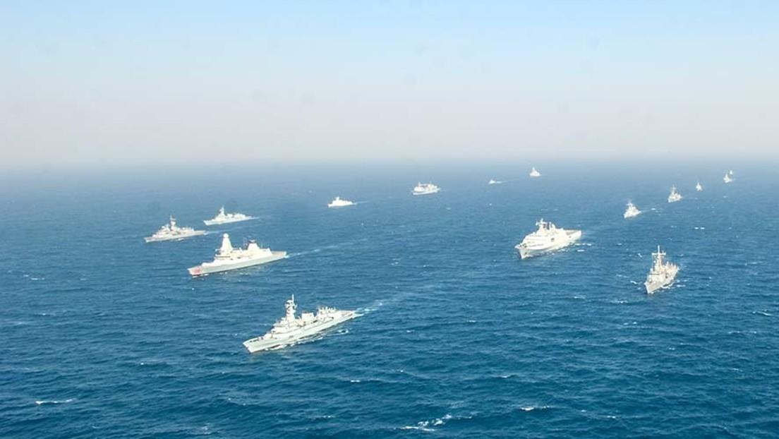 Russische Schiffe für internationale Marineübung AMAN 2021 in Pakistan eingetroffen