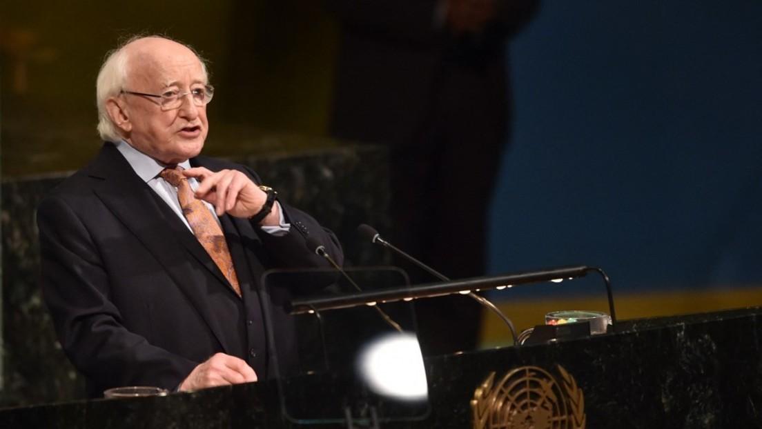 """Irischer Präsident kritisiert """"vorgetäuschte Amnesie"""" über britischen Imperialismus"""