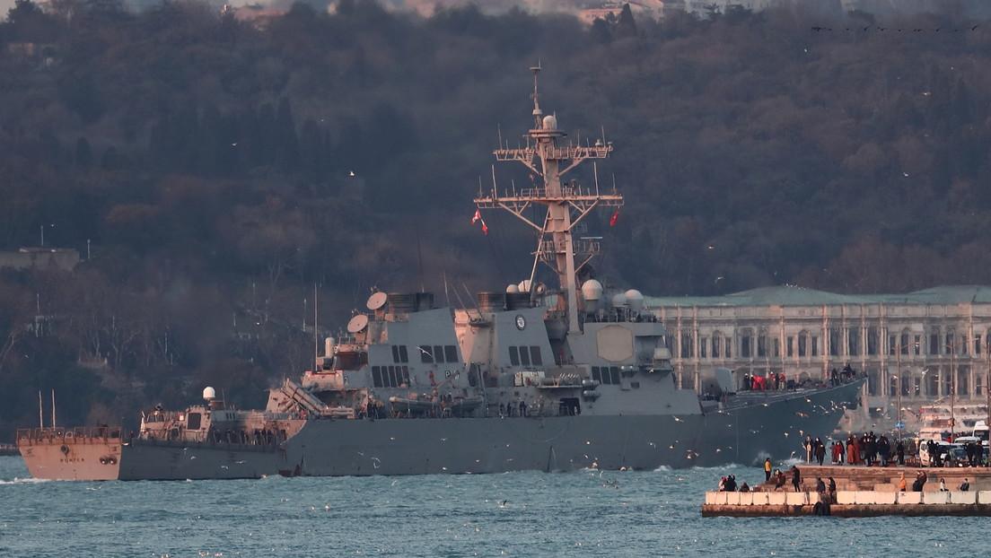 """Russland fordert USA zur Einstellung von """"rücksichtslosem Säbelrasseln"""" im Schwarzen Meer auf"""