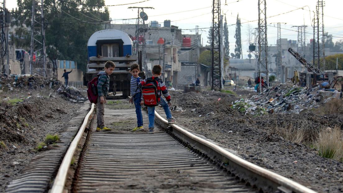Wie die Interessen des Westens in Syrien den Menschen die Luft abschnüren
