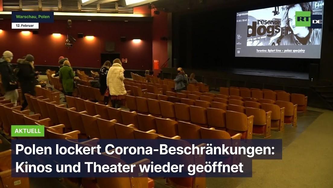 Polen lockert Corona-Beschränkungen: Kinos und Theater wieder geöffnet