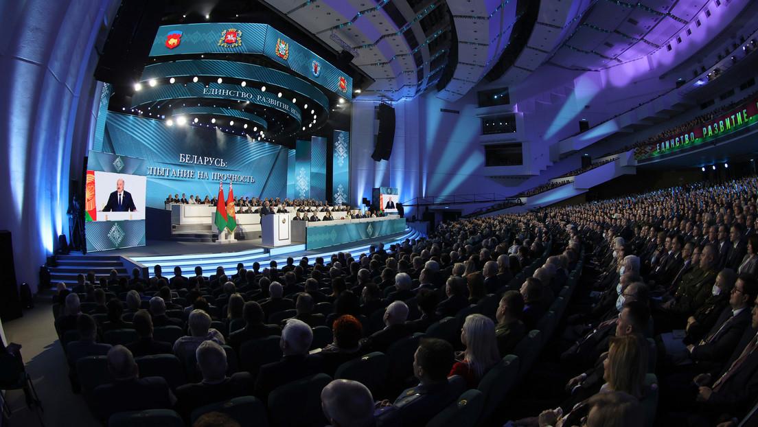 Allweißrussische Volksversammlung: Weißrussland sollte kein neutrales Land mehr bleiben