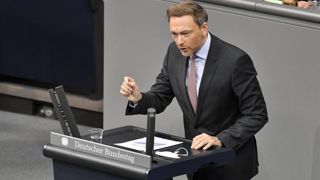 """""""Putin-nahe Elite treffen"""": FDP-Chef Lindner für ein anderes Vorgehen gegenüber Russland"""