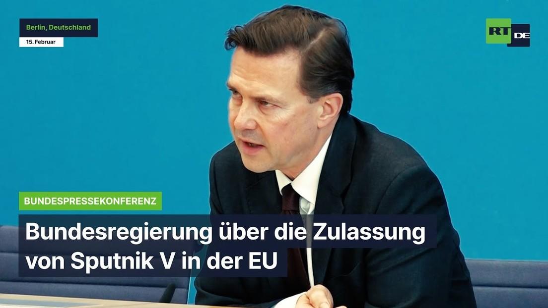 Bundesregierung über die Zulassung von Sputnik V in der EU