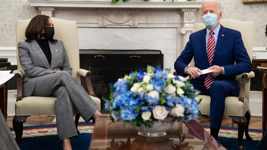 Schleichende Übernahme der Amtsgeschäfte? US-Vizepräsidentin Harris telefoniert mit Macron