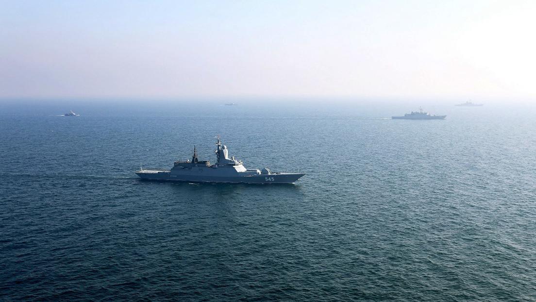Russland startet gemeinsame Militärübung mit Iran im nördlichen Indischen Ozean