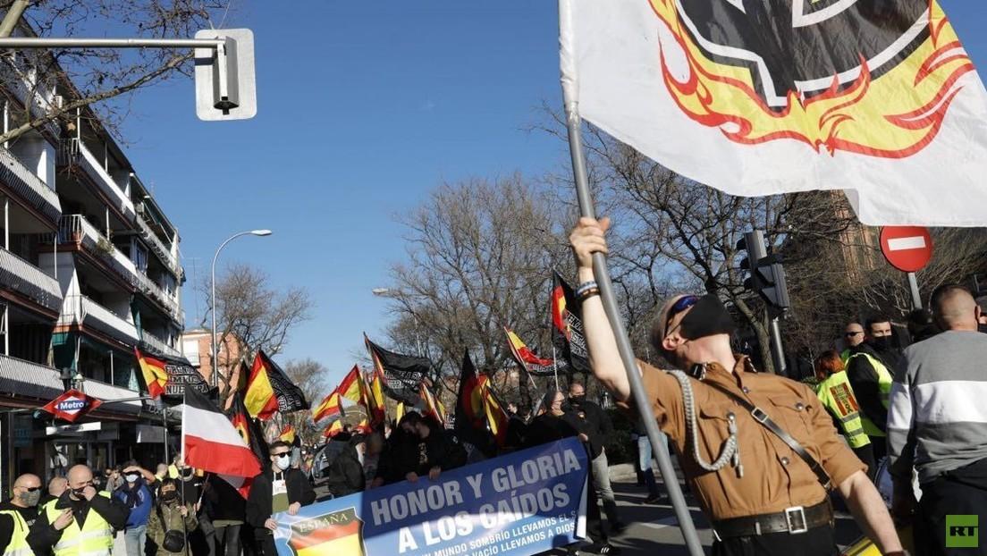 """Rechtsextremer Aufmarsch in Spanien sorgt für Empörung: """"Der Jude wird immer unser Feind sein"""""""