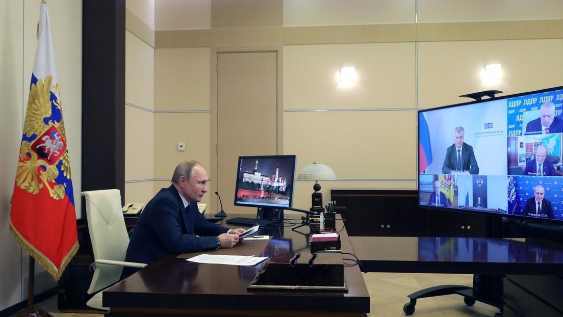 Putin: Russland wird keine Angriffe auf seine Souveränität zulassen