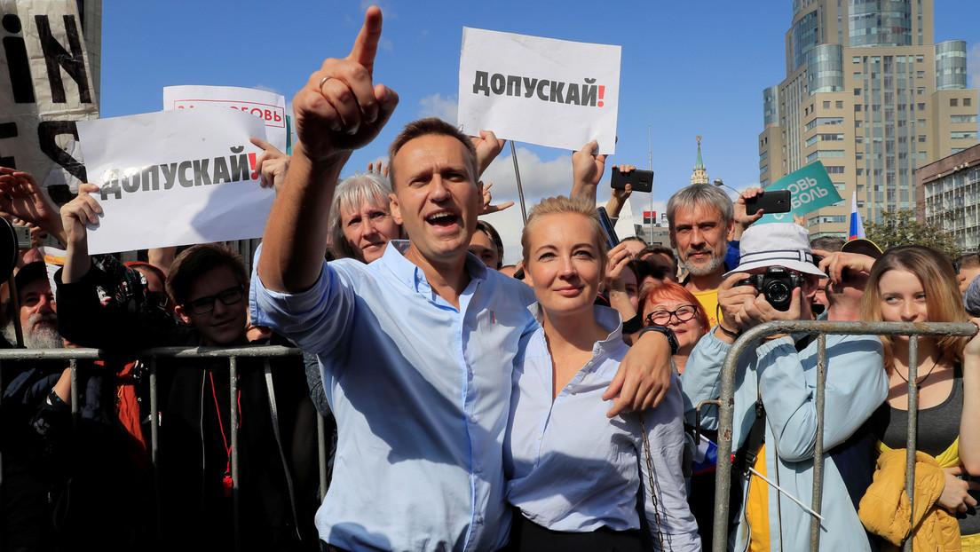 Nawalny als Instagram-Häftling und seine Frau Julia: Eine neue Seifenoper für deutsche Medien?