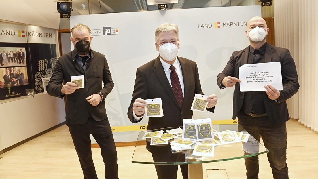 "Kärnten: Kritik an ""Solidaritäts-Armbändern"" für Corona-Geimpfte"