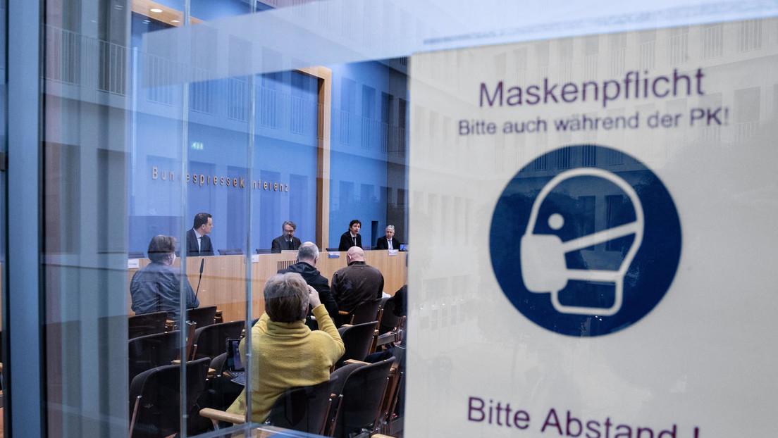 LIVE: Bundespressekonferenz in Berlin: Corona, Impfstoffe, Nawalny