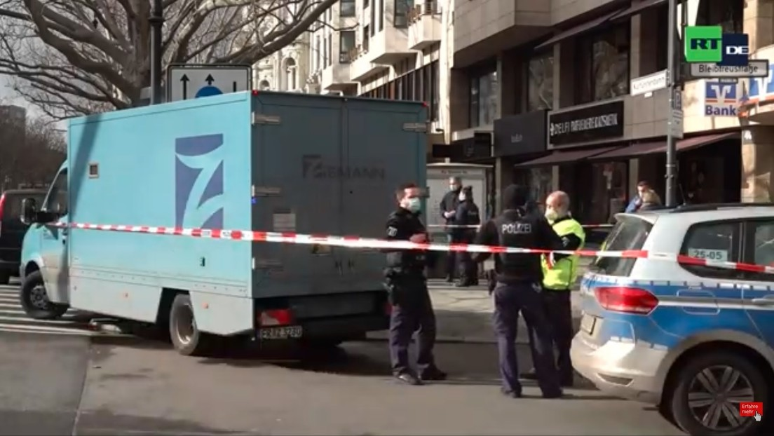 LIVE: Berlin – Polizeieinsatz nach Überfall auf Geldtransporter