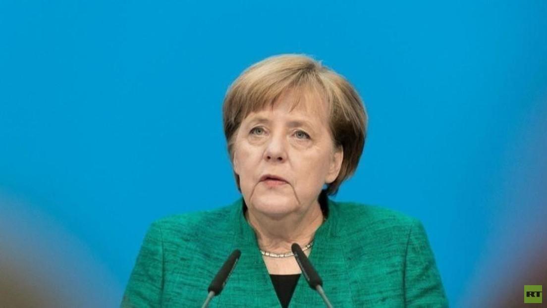 LIVE: Bundeskanzlerin Merkel nach virtuellem G7-Treffen zur Verteilung von COVID-Impfstoffen