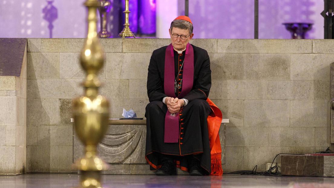 """""""Das tut mir von Herzen leid"""": Kardinal Woelki gesteht Fehler bei Aufarbeitung von Missbrauchsfällen"""