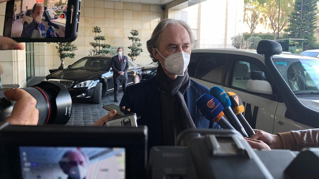 Mission Impossible? –  UN-Sonderbeauftragter für Syrien vermittelt in Damaskus