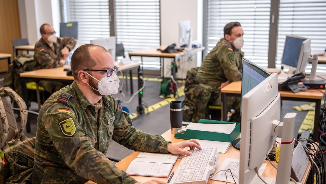 """Bundeswehr sieht Corona-Krise als """"Blaupause"""" für zukünftige Inlandseinsätze"""