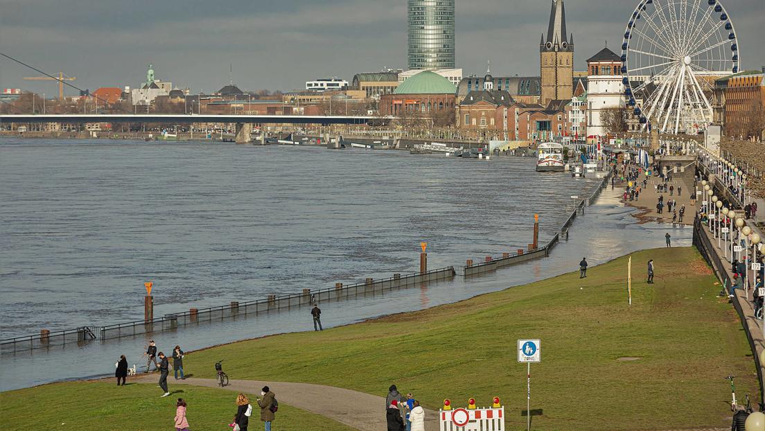 Corona Wahnsinn in Düsseldorf: Verweilverbot am Rheinufer nach Überfüllung am Wochenende