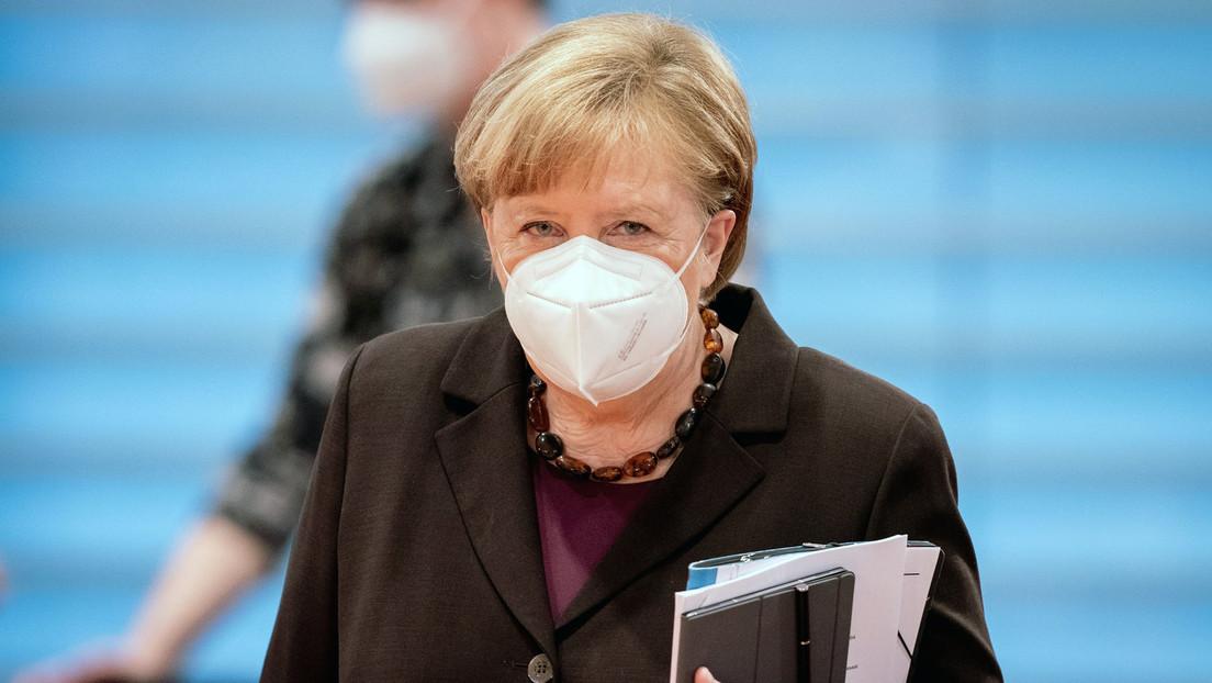 """Vier-Stufen-Plan des RKI für Lockerungen – Merkel warnt: """"Wir sind jetzt in der dritten Welle"""""""