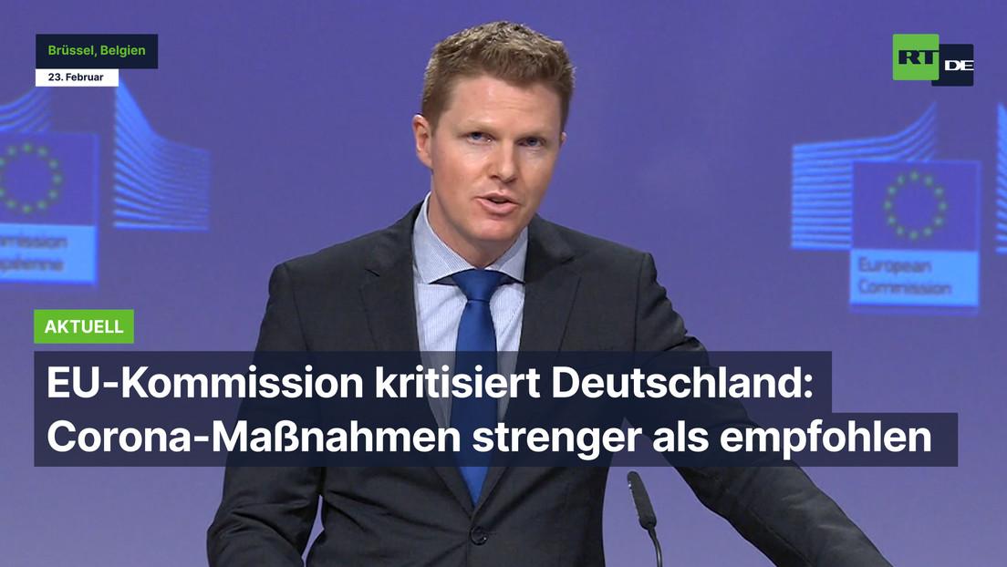 EU-Kommission kritisiert Deutschland: Corona-Maßnahmen strenger als empfohlen