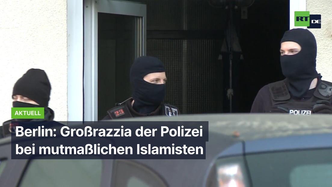 Berlin: Großrazzia der Polizei bei mutmaßlichen Islamisten