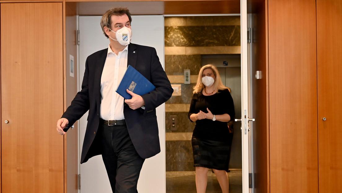"""Bild: """"Meuterei gegen Merkel?"""" – Söder widerspricht und will Öffnungen """"mit Vernunft und Vorsicht"""""""