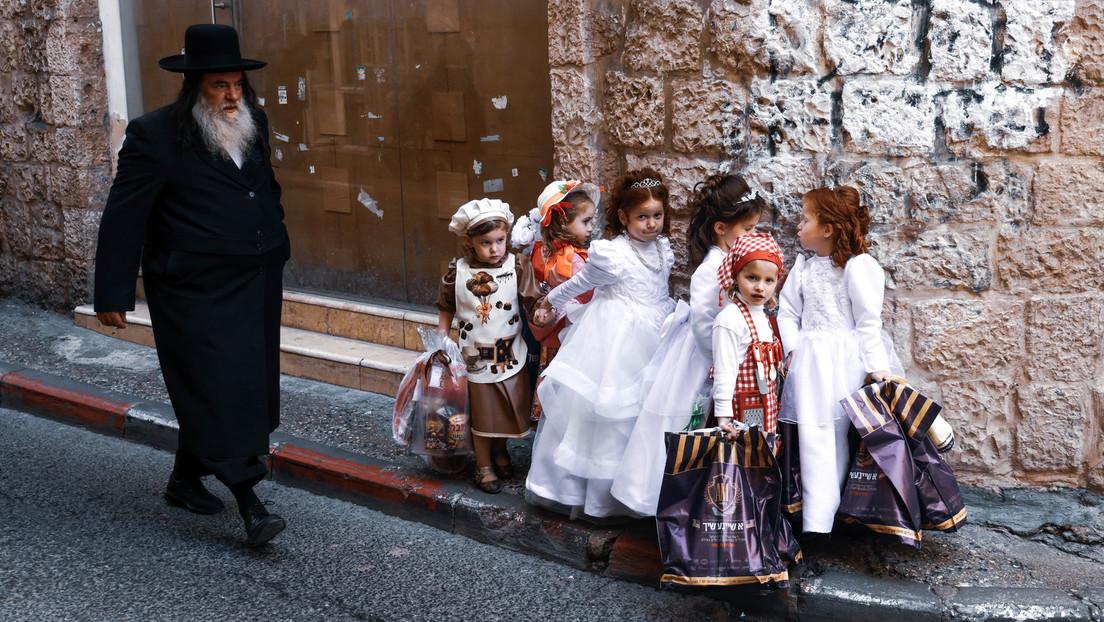 Jerusalem: Juden begehen das Purimfest