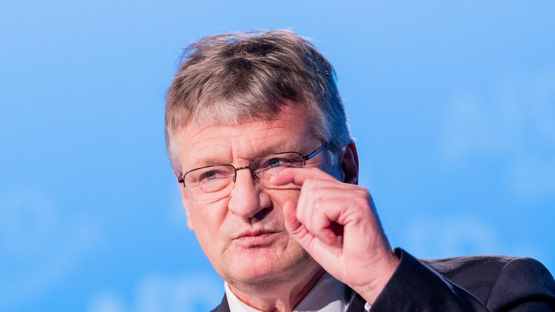 """AfD-Vorsitzender Jörg Meuthen zum EU-Impfpass: """"Impfpflicht durch die Hintertür!"""""""