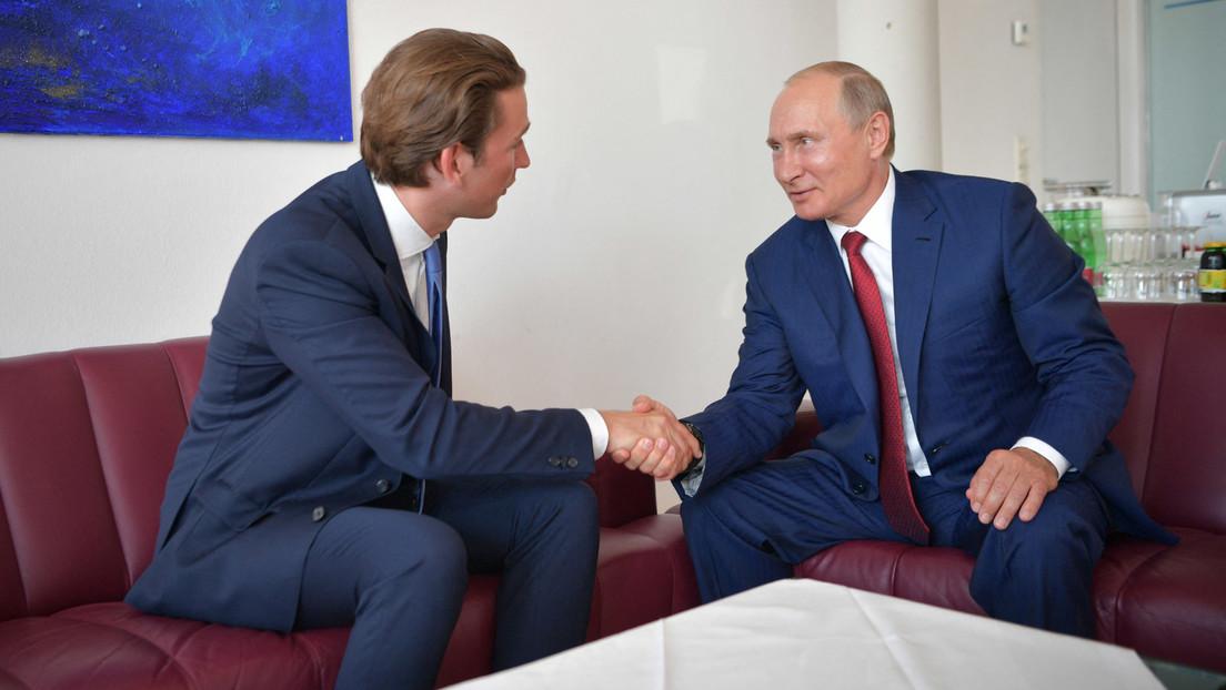Putin und Kurz besprechen Lieferung und Produktion von Sputnik V