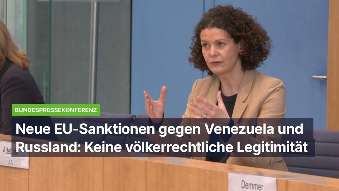 Auswärtiges Amt stellt EU-Sanktionsregime gegen Russland und Venezuela über das Völkerrecht