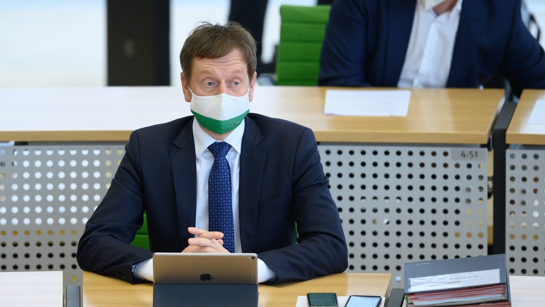 Sachsens Ministerpräsident Kretschmer schließt Impfpflicht nicht mehr aus