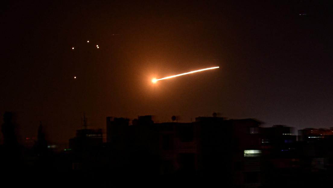 Syrische Staatsmedien: Israel beschießt seit 22 Uhr Damaskus mit Raketen von den Golan-Höhen aus