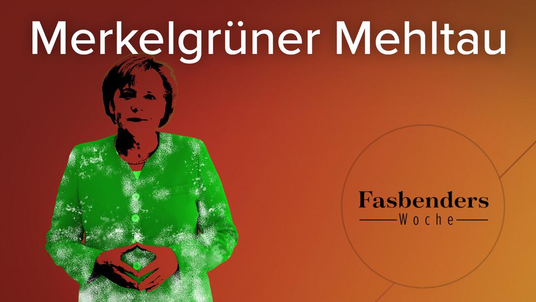 Fasbenders Woche: Merkelgrüner Mehltau