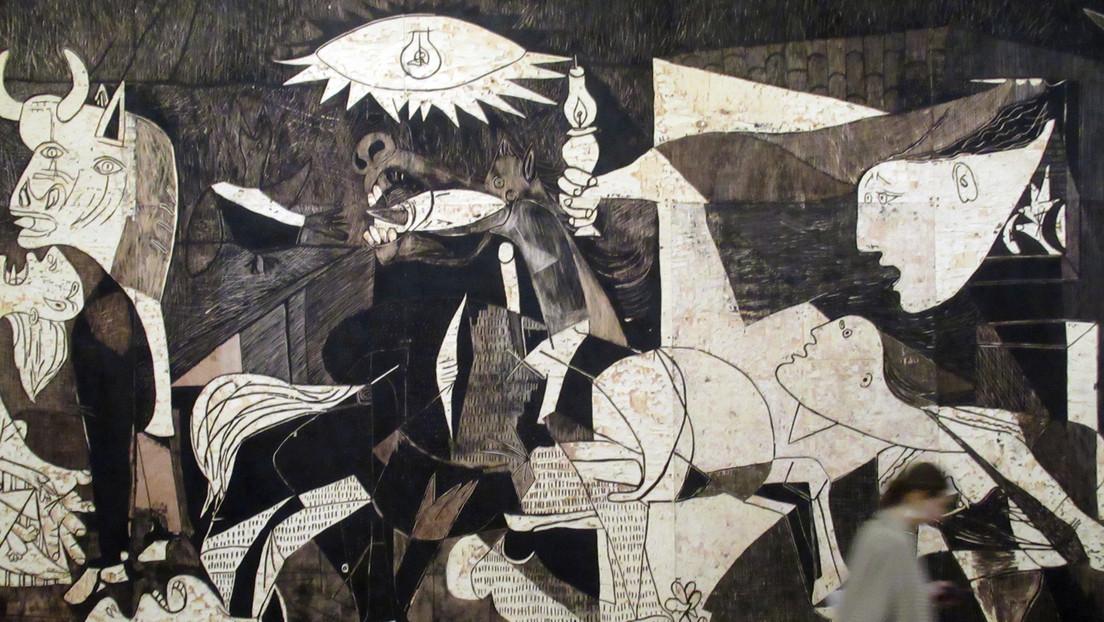 """An Besitzer zurückgegeben: Picassos """"Guernica""""-Wandteppich aus UN-Hauptquartier entfernt"""