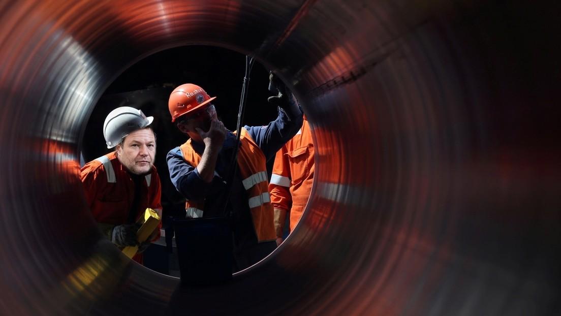 """Bundesregierung steht zu Nord Stream 2 – Grüne kritisieren Finanzierung durch """"ein korruptes Regime"""""""