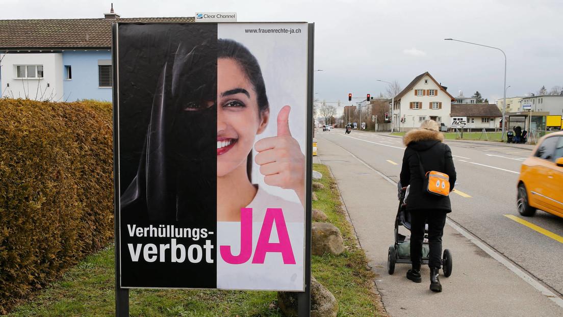 Schweiz: Abstimmung über Verhüllungsverbot
