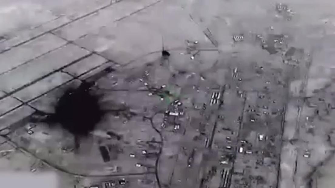 Pentagon gibt Videoaufnahmen frei: Iranische Raketen schlagen auf US-Basis im Irak ein