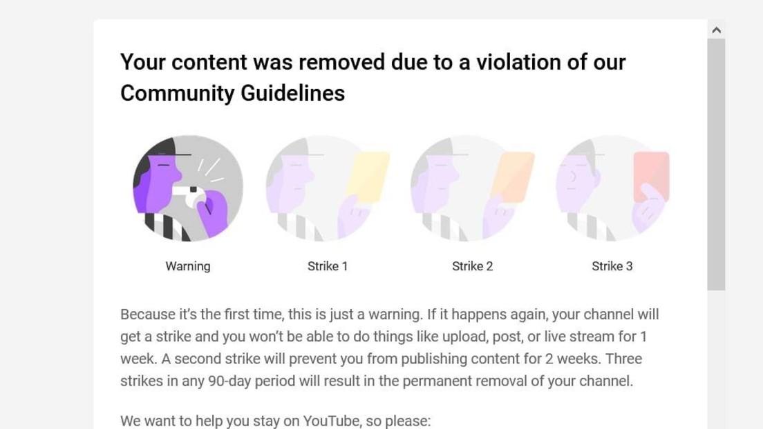 Selektive Zensur? – YouTube verwarnt RT DE wegen Live-Übertragung von Trump-Rede