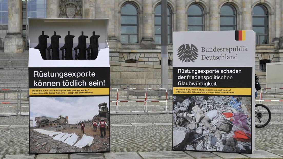 Wert der deutschen Leichtwaffenexporte an Drittländer steigt 2020 deutlich