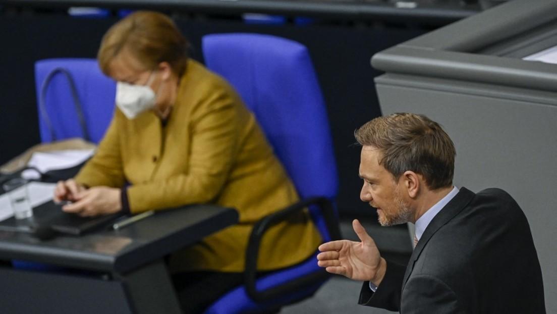 """Lindner kritisiert Merkel und warnt vor """"dauerhaft verlängertem Lockdown"""""""