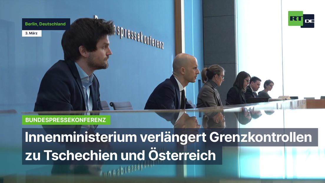 Innenministerium verlängert Grenzkontrollen zu Tschechien und Österreich